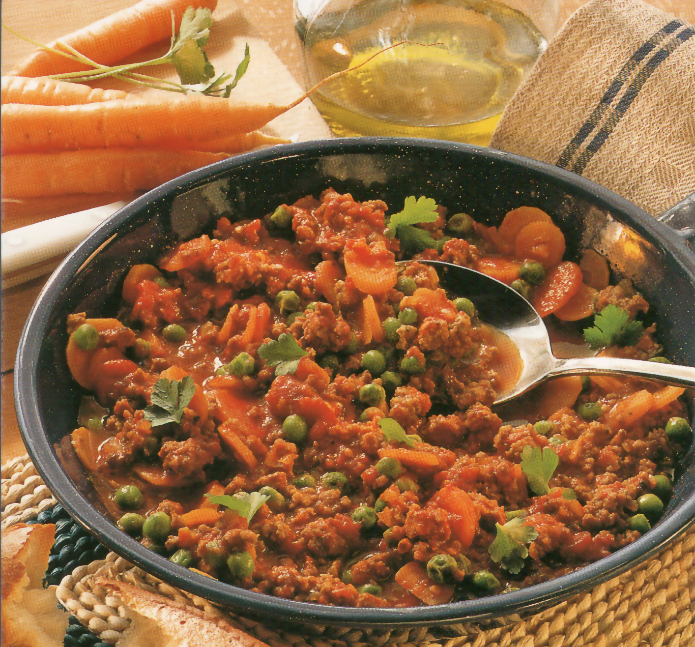 Фарш с овощами на сковороде рецепт