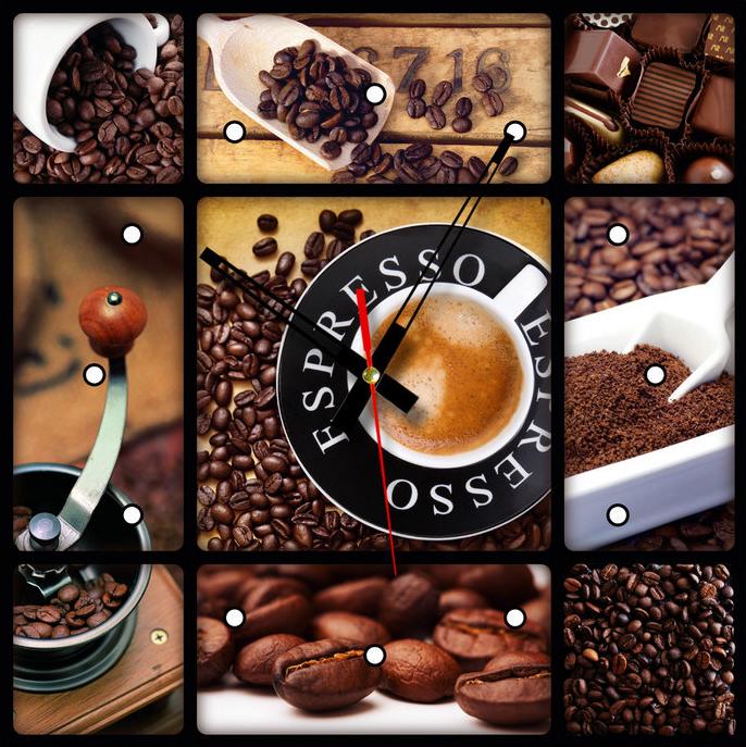 Часы-картина Time2go Кофе