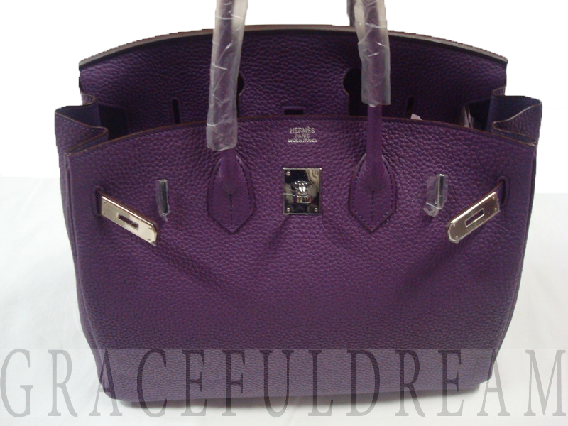 Сумка Hermes Birkin Lilac-purple.