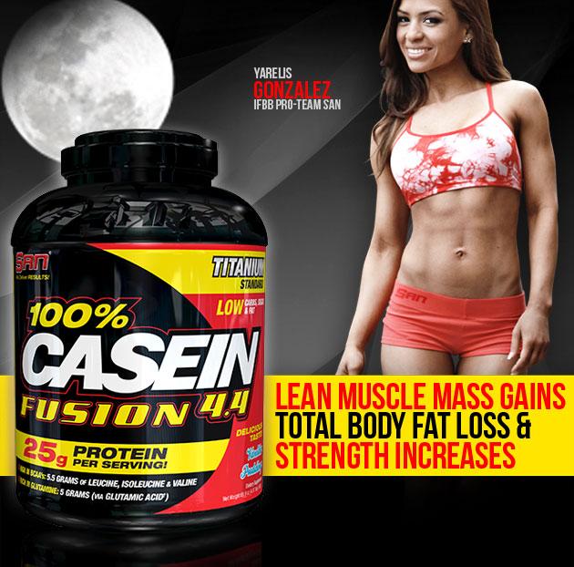 san 100 casein fusion protein san