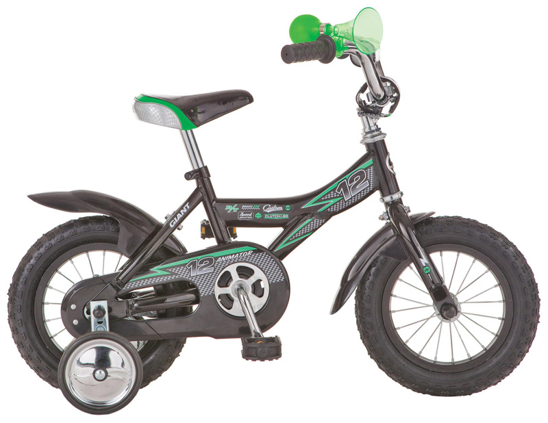 На велосипедах этой возрастной