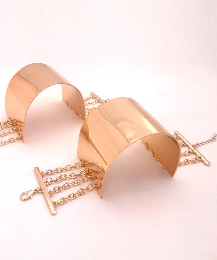 браслеты-манжеты для ног.