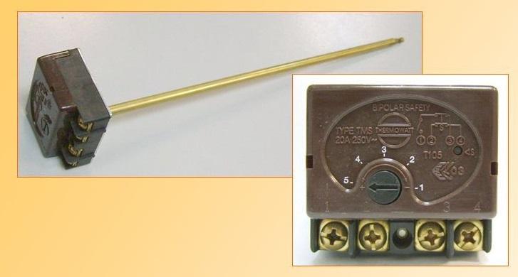 термостат TMS 300 мм 20 A для водонагревателя