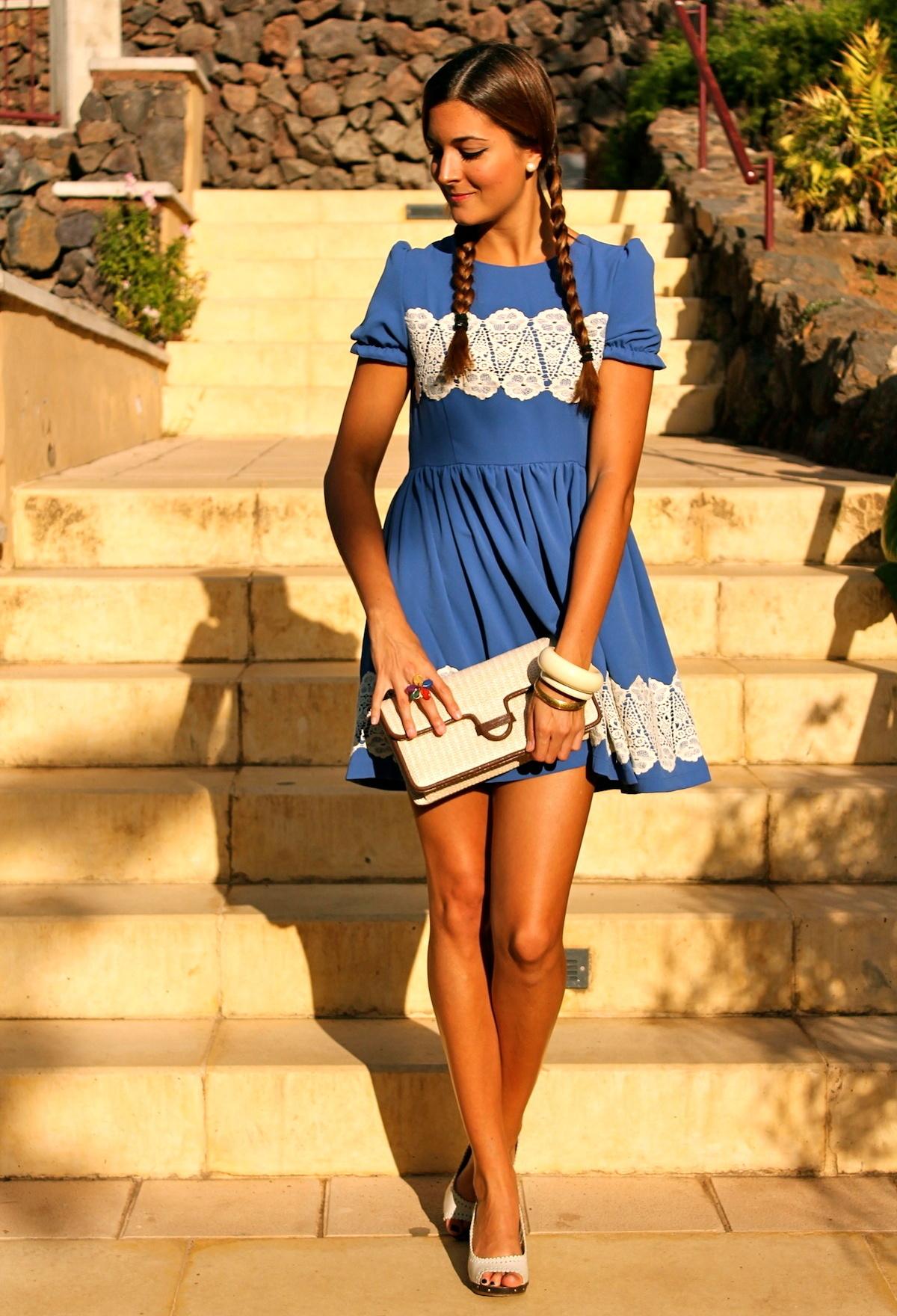 Коротенькие летние платья 5