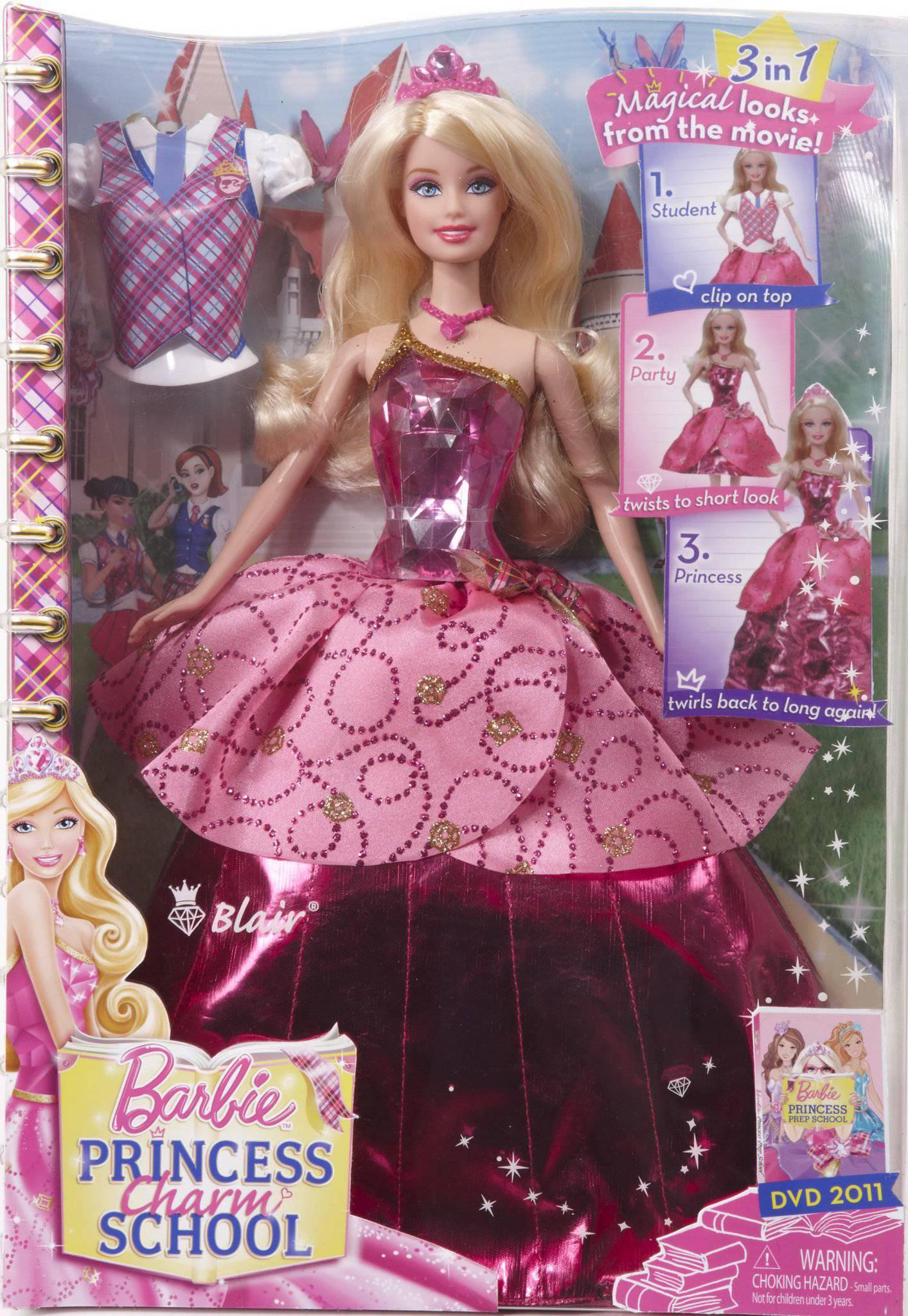 Барби академия принцесс блэр