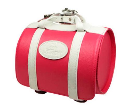 Кожаная сумка на руль для Strida.