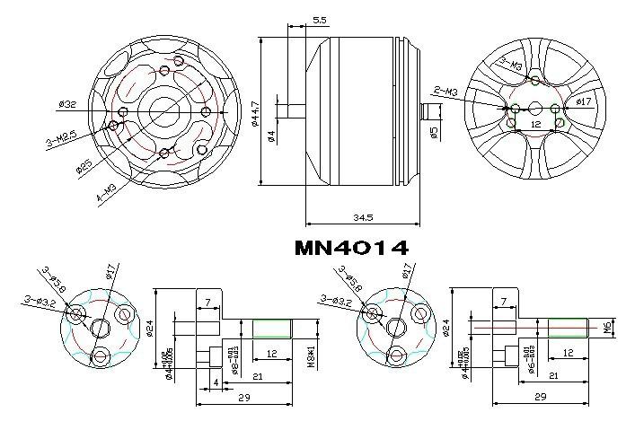 T-Motor MN4014 KV330