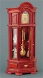 Часы напольные с маятником, с действующим часовым механизмом