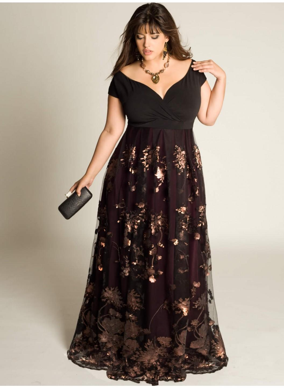 Модные Платья Больших Размеров 2014