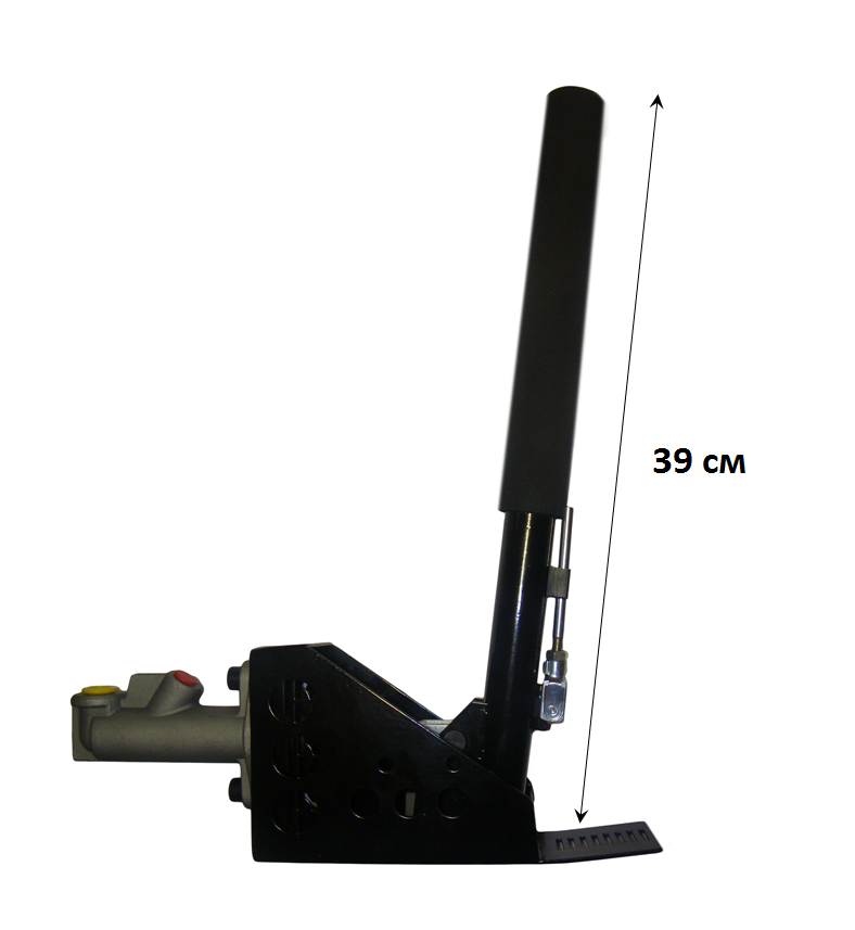 Вертикальный гидравлический ручник. Удобная ручка, плавнй ход