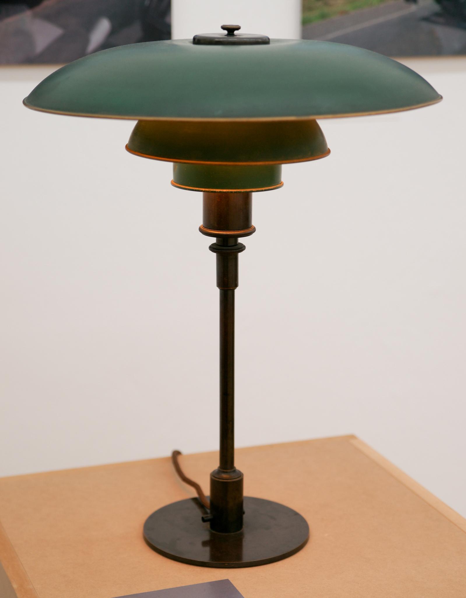 replica Louis Poulsen table lamp by Poul Henningsen