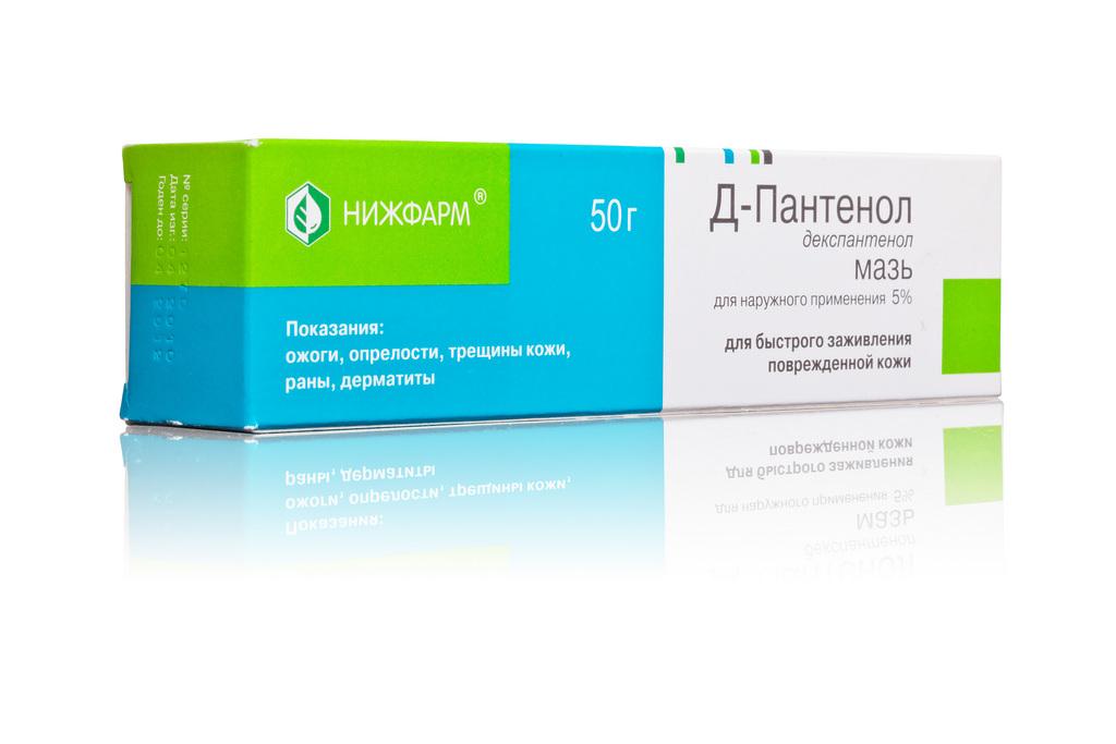 Основным действующим веществом мази д-пантенол (д-п) (маркетинг и мазь